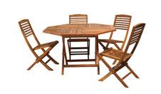 4 x SOLESME / 1 x OLERON : ensemble de mobiliers en location