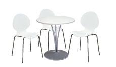 3 x AUBIN blanc / 1 x AGOT blanc : ensemble de mobiliers en location