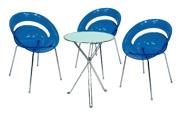3 x SLIM bleu / 1 x AURIGNY : ensemble de mobiliers en location