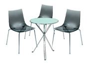 3 x TINA fumé / 1 x AURIGNY : ensemble de mobiliers en location