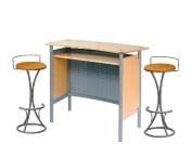 1 x MALO bois / 2 x PENHIR camel : ensemble de mobiliers en location