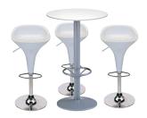 3 x BILE / 1 x JERSEY blanc : ensemble de mobiliers en location