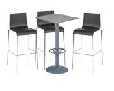 3 x ERQUY noir / 1 x MALBAN gris : ensemble de mobiliers en location