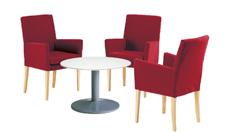3 x MAYENNE bordeaux / 1 x NOIRMOUTIER blanc : ensemble de mobiliers en location