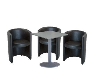 Ensemble de mobiliers en location : 3 x PAIMPOL / 1 x BATZ gris