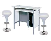 1 x HERBLAIN blanc / 2 x BILE : ensemble de mobiliers en location