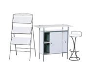 1 x NAZAIRE blanc / 1 x PENHIR blanc / 1 x ANJOU blanc : ensemble de mobiliers en location