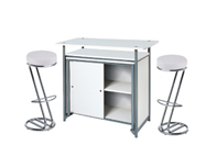 1 x PHILIBERT blanc / 2 x FREHEL blanc : ensemble de mobiliers en location