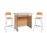 1 x POL bois / 2 x SIZUN bois : ensemble de mobiliers en location