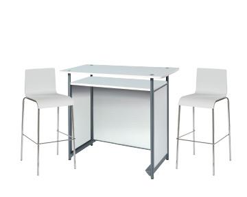 Ensemble de mobiliers en location : 1 x POL blanc / 2 x ERQUY blanc