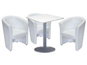 3 x CORNOUAILLE / 1 x BATZ blanc : ensemble de mobiliers en location
