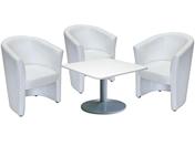 3 x CORNOUAILLE / 1 x HOEDIC blanc : ensemble de mobiliers en location