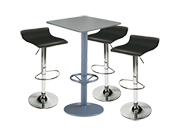 3 x PAYRE noir / 1 x MALBAN gris : ensemble de mobiliers en location
