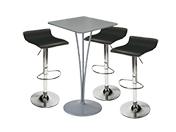 3 x PAYRE noir / 1 x ARZAL gris : ensemble de mobiliers en location