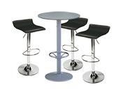 3 x PAYRE noir / 1 x JERSEY gris : ensemble de mobiliers en location