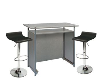 Ensemble de mobiliers en location : 1 x POL gris / 2 x PAYRE noir