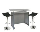1 x POL gris / 2 x PAYRE noir : ensemble de mobiliers en location