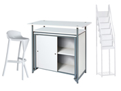 1 x KERDONIS blanc / 1 x VENDEE blanc / 1 x PHILIBERT blanc : ensemble de mobiliers en location