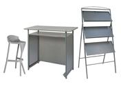 1 x KERDONIS gris / 1 x ANJOU gris / 1 x POL gris : ensemble de mobiliers en location