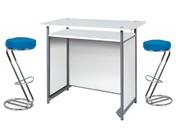 2 x FREHEL bleu / 1 x POL blanc : ensemble de mobiliers en location