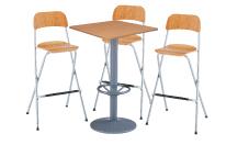 3 x SIZUN bois / 1 x MALBAN bois : ensemble de mobiliers en location