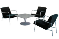 Location tables basses fauteuils chauffeuses mobilier for Mobilier salon professionnel