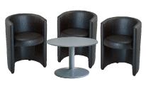 3 x PAIMPOL / 1 x NOIRMOUTIER gris : ensemble de mobiliers en location