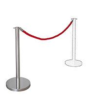 Location de mobilier : location potelet à corde CROISIC CORDE ROUGE