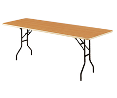 Location de mobilier : location table pliante HOUAT pliante