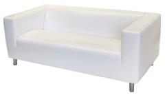 Location de mobilier : location canapé MOULLEAU simili cuir