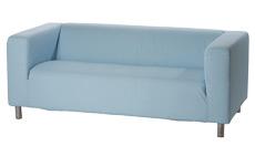 MOULLEAU tissu : canapé en location