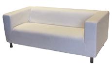 MOULLEAU tissu : sofa en location