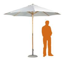 Location de mobilier : location parasol PARASOL