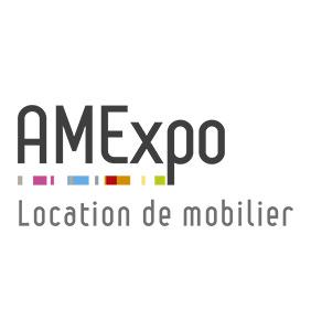 Accès au catalogue de mobilier en location AMExpo